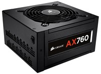 Corsair AX760 760W Modular Power Supply 80 Plus Platinum