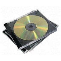 Fellowes CD Jewel Cases 10 Pack (1 x Pack of 10 Jewel Cases)