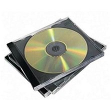 Fellowes CD Jewel Case (1 x Pack of 10 Jewel Cases)