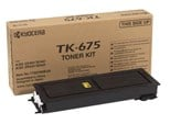 Kyocera TK-675 Black (Yield 20,000 Pages) Toner Cartridge for KM-2540/KM-2560/KM-3040/KM-3060 Printers