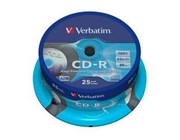 Verbatim CD-R 52x AZO Data Vinyl Printable