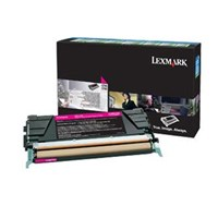 Lexmark Magenta Toner Cartridge for C746/C748 Printers (Yield: 7000 Pages)