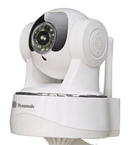 Dynamode DYN-622 IP Wireless Security Camera with Pan, Zoom 10 Infrared LED 6m Distance