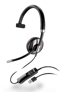 Plantronics Blackwire C710-M Over-the-Head Monaural UC Headset (Microsoft)