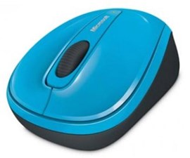 Microsoft Wireless Mobile BlueTrack Mouse 3500 (Blue)