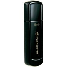Transcend JetFlash 350 8GB USB 2.0 Drive (Black)