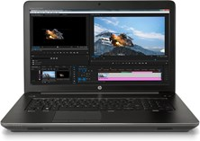HP ZBook 17 G4 (17.3 inch) Mobile Workstation Core i7 (7700HQ) 2.8GHz 8GB 256GB SSD WLAN Webcam Windows 10 Pro 64-bit (Quadro M2200 4GB)