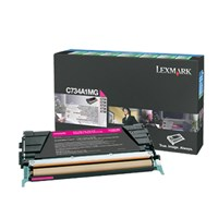 Lexmark Return Program (Yield: 6,000 Pages) Magenta Toner Cartridge for C734/C736/X734/X736/X738 Colour Laser Printers