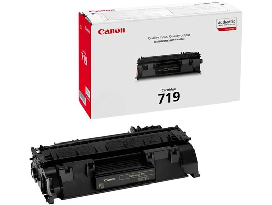 Canon 719 (Yield: 2,100 Pages) Black Toner Cartridge