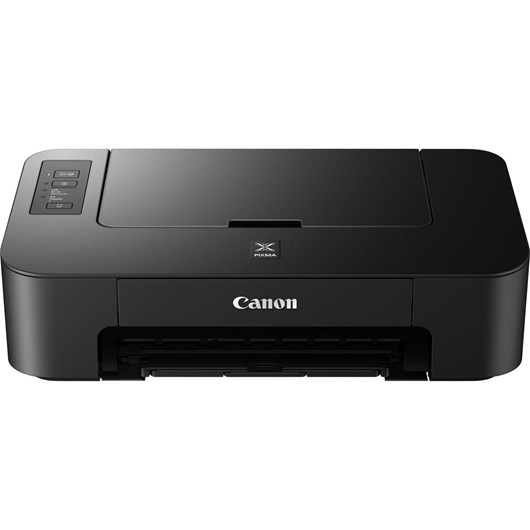 Canon PIXMA TS205 (A4) Colour Photo Printer 7.7ipm (Mono) 4.0ipm (Colour) 65 sec (Photo) (Black)