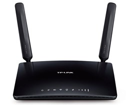 TP-Link Archer MR200 AC750 433Mbps (5GHz) 300Mbps (2.4GHz) Dual-Band Wireless 4G LTE Router (Black) V1.0