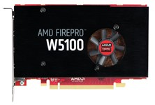 HP FirePro W5100 4GB Graphics Card