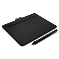 Wacom Intuos CTL-4100 Small Creative Pen Tablet (Black) - EN, DE, SV, PL, RU