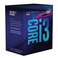 Intel Core i3 8100 3.6GHz Quad Core LGA1151 CPU