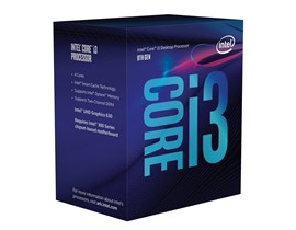 Intel Core i3 8100 3.6GHz 4 Core (Socket 1151) CPU
