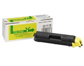 Kyocera Mita TK-590Y Yellow (Yield 5,000 pages) Microfine Toner Cartridge