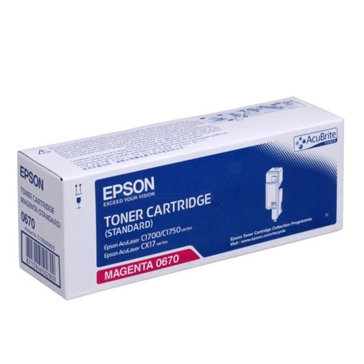Epson Standard Capacity Magenta Toner Cartridge (Yield 700 Pages)