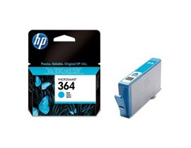 HP 364 (Yield 300 Pages) Cyan Ink Cartridge (Blister)