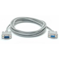 StarTech.com Cross Wired Serial/Null Modem Cable - DB9 M/F (3m)