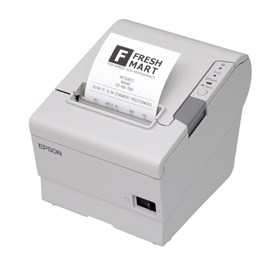 Epson TM-T88V (031) Thermal Line Receipt Printer 300mm/sec Print Speed 180dpi Serial (Epson Cool White) without power supply