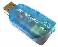 Dynamode USB-SOUNDCARD2.0 USB Sound Card 2.0 Adaptor