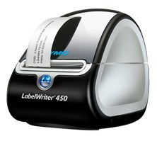 Dymo LabelWriter 450 USB Label Printer 600 x 300dpi (Black/Silver)