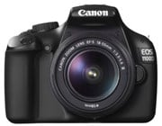 Canon EOS 1100D Digital Camera 12MP with 2.7 inch LCD Monitor (Black)