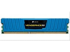 Corsair Vengeance Low Profile 32GB (4 x 8GB) Memory Kit PC3-12800 1600MHz DDR3 DIMM Unbuffered (Blue)