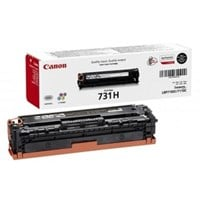 Canon 731H (Yield: 2,400 Pages) High Yield Black Toner Cartridge