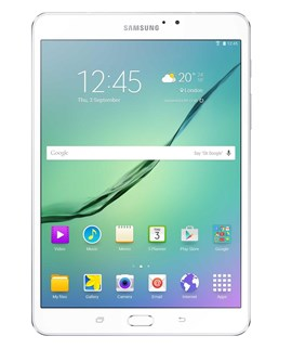 Samsung Galaxy Tab S2 2016 SM-T713 (8 inch) Tablet Octa-Core 1.8GHz+1.4GHz 3GB 32GB WiFi BT Camera Android 6.0.1 Marshmallow (White)
