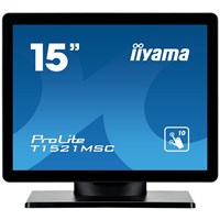 iiyama ProLite T1521MSC-B1 15 inch LED - 1024 x 768, 8ms, Speakers