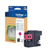 Brother LC125XLM (Yield: 600 Pages) Magenta Ink Cartridge