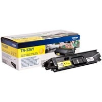 Brother TN-326Y (Yield: 3,500 Pages) Yellow Toner Cartridge