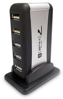 Dynamode USB-H70-1A2.0 7 Port High Speed Active USB Hub