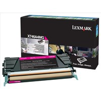 Lexmark Return Program (Yield: 7000 Pages) Magenta Toner Cartridge for X746/X748 Printers