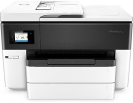 HP OfficeJet Pro 7740 (A3) Colour Inkjet Wide Format All-in-One Printer (Print/Copy/Scan/Fax) 512MB 2.65 inch LCD 22ppm (Mono) ISO 18ppm (Colour) ISO 16 sec (Photo) 30,000 (MDC)