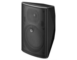 TOA F-1300B Wide Dispersion Speaker System 8 Ohms Rated Impedance (Black)