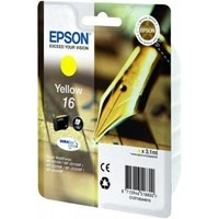 Epson Pen and Crossword 16 (Yield 165 pages) Yellow 3.1ml Ink Cartridge