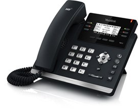 Yealink T42GN Entry Level IP Phone 2.7 inch LCD 3-VoIP Power Over Ethernet (PoE) VPN (Black)