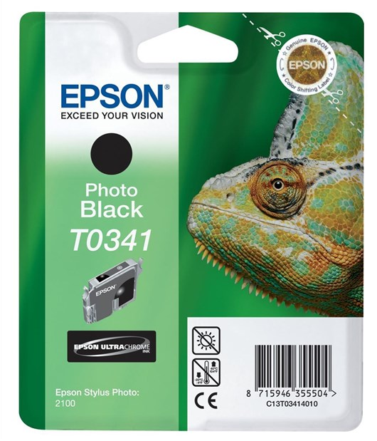 Epson T0341 UltraChrome Black Ink Cartridge