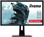 Iiyama Red Eagle G-MASTER GB2788HS (27 inch) LED Backlit LCD Monitor 1000:1 300cd/m2 (1920x1080) 1ms DVI/HDMI/DisplayPort (Black)