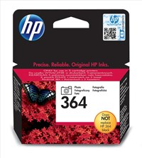 HP 364 (Yield 130 Pages) Black Photo Ink Cartridge with Vivera Ink