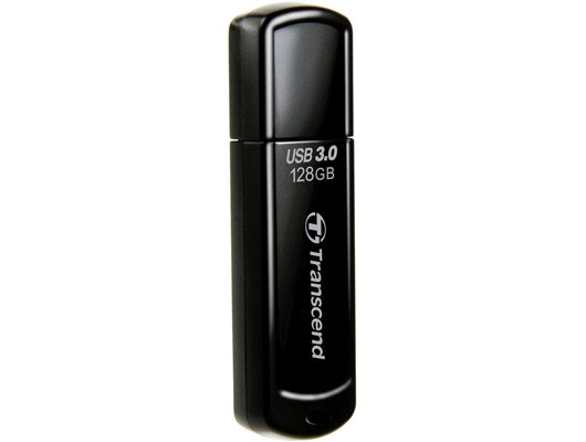 Transcend JetFlash 700 128GB USB 3.0 Drive (Black)