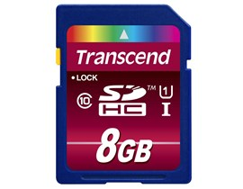 Transcend Ultimate 8GB UHS-1 (U1) SD Card