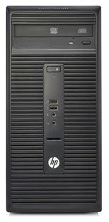HP 280 G1 Microtower PC Core i3 (4160) 3.6GHz 4GB 500GB DVD±RW LAN Windows 7 Pro 64-bit+Media Upgrade to Windows 10 Pro (HD Graphics 4400)