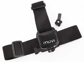 Veho VCC-A014-HM Rubberised Helmet Mount (Black) for Muvi HD Camcorder