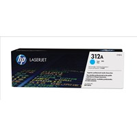 HP 312A (Yield: 2,700 Pages) Cyan Toner Cartridge
