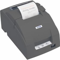 Epson TM-U220PB Impact Dot Matrix Receipt Printer 4.70lps (40 Columns, 16.00cpi) Ethernet Power Supply (Epson Cool White) *Open Box*