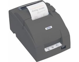 Epson TM-U220PB Impact Dot Matrix Receipt Printer 4.70lps (40 Columns, 16.00cpi) Ethernet Power Supply (Epson Cool White)