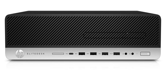 HP EliteDesk 800 G3 Small Form Factor Core i5 (7500) 3.4GHz 8GB 256GB SSD DVD-Writer LAN Windows 10 Pro 64-bit (HD Graphics 630)